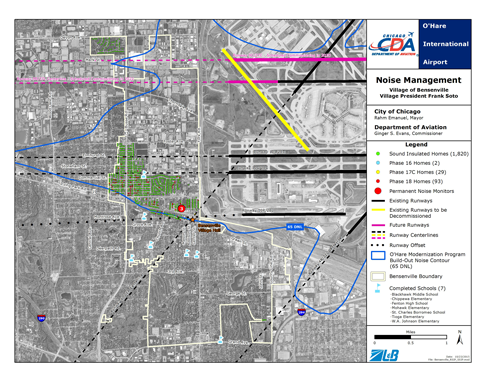 Noise Map Bensenville revised 2015